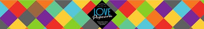 Love Popcorn banner