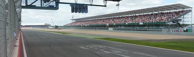 Silverstone banner