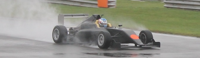 Matty Graham at the wheel of one of SWR's all new F4-016's